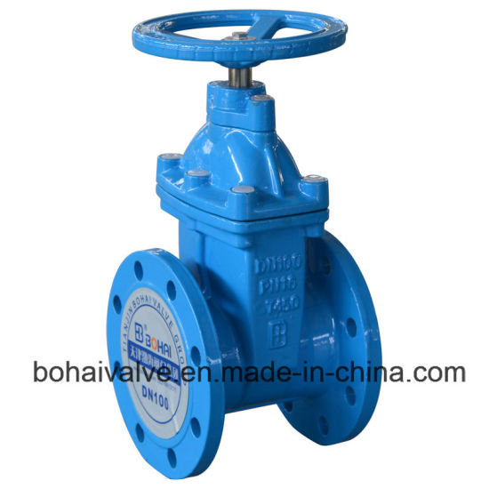 ISO Approved Non-Rising Stem Gate Valve pictures & photos