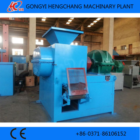 Small Charcoal Briquette Extruder Machine with Ce/ISO Certificate pictures & photos