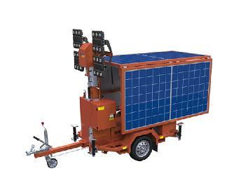 Kubota Engine Powered and Solar Light Tower pictures & photos
