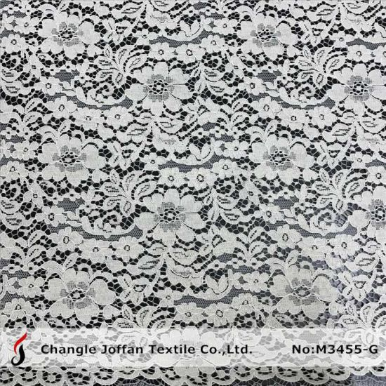 Thick Cord French Lace Bridal Lace for Wedding Dresses (M3455-G) pictures & photos
