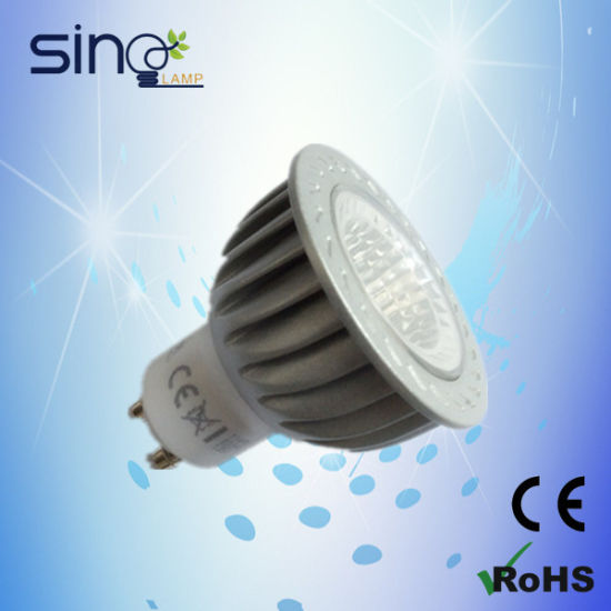 6W GU10 COB LED Bulb, LED Spotlight 6W Spot LED GU10 pictures & photos