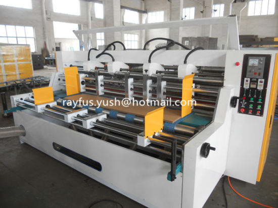 Four Shaft Slitting Creasing machine pictures & photos