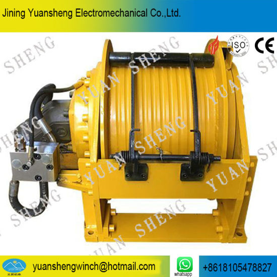 Ys 15.0 Type China Manufacturer 15 Ton Hydraulic Winch for Drilling Rig and Crane