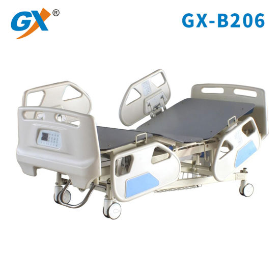 Five Functions ICU Bed Electric Hospital Bed with Weight Scale