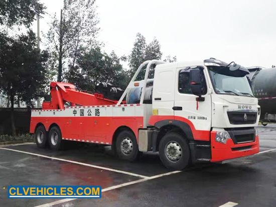 HOWO Heavy Duty Tow 40t Towing Repair Equipment Truck pictures & photos