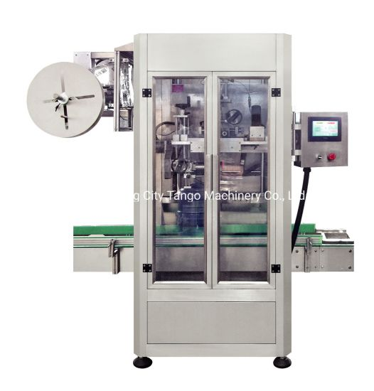 Automatic High Speed Bottle 5gallon Cap Shrink Sleeve Labeling Machine