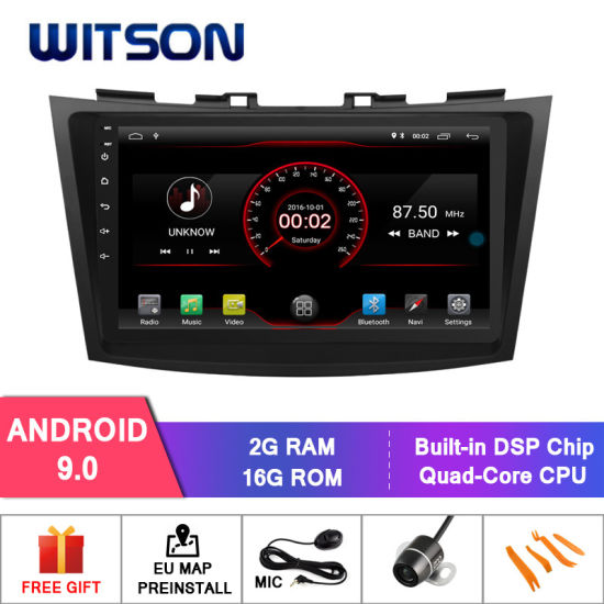 China Witson 9′′ Big Screen Car DVD Player GPS for Suzuki
