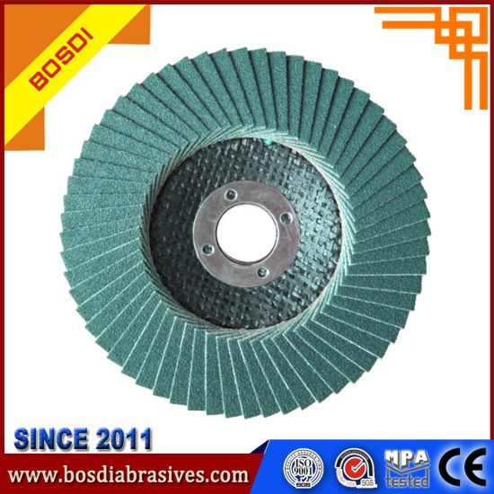 Zirconium Flap Disc with German Vsm Cloth pictures & photos