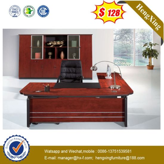 Classic Design Rose Mahogany Color Wooden Executive Table pictures & photos