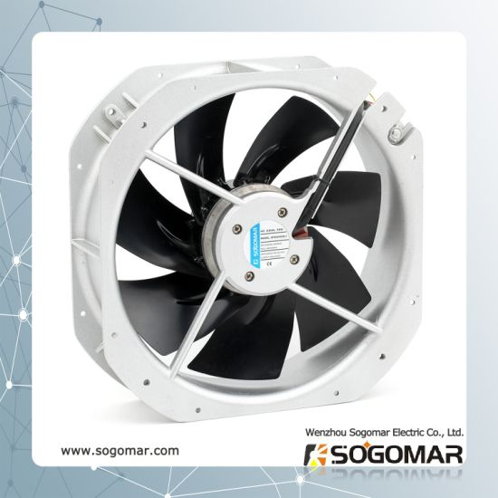 (SFM28080) Cooling Ventilation Metal Blades Exhaust Ventilating AC Axial Fan