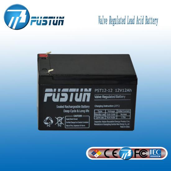 Energy Storage UPS Battery with Uninterruptible Power Supply (PST12-12)