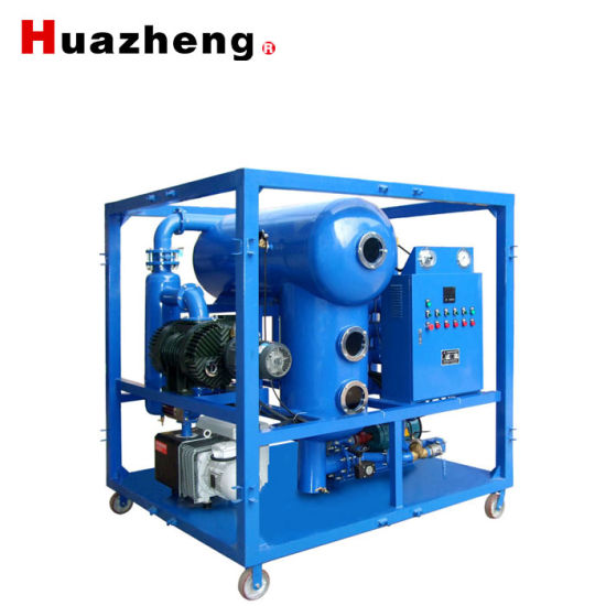 3000L/Hour Portable Enclosed Transformer Oil Degassing Dehydration and Filtration Machine