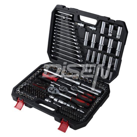 216 PCS Hand Tool Set, Professional Mechanic Tool Set