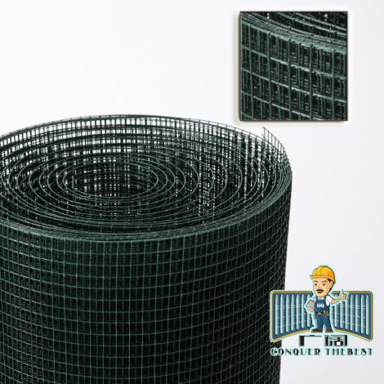 Building Material PVC Coating Galvanized Stainless Steel Welded Iron Wire Mesh