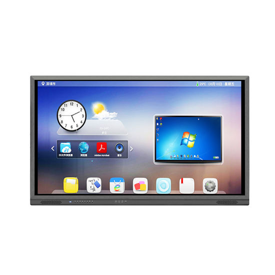 4K LCD Android Infrared USB Touch Screen Monitor Interactive Panel pictures & photos
