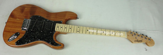 Cheap Price All Solid Mahogany St Strato Style Electric Guitar for Sale pictures & photos