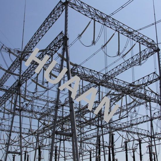 Transformer Substation Steel Iron Transmission Structure pictures & photos