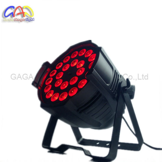 Disco Light LED Stage Lighting DJ LED PAR 64 24*18W LED PAR Can Light pictures & photos
