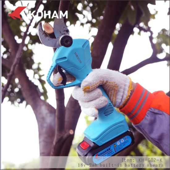 Professional Battery Powered Pruning Shears with Large Capacity pictures & photos