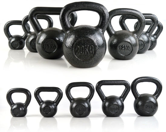 Commercial Gym Equipment Crossfit training Free Weight Cast Iron Kettlebell