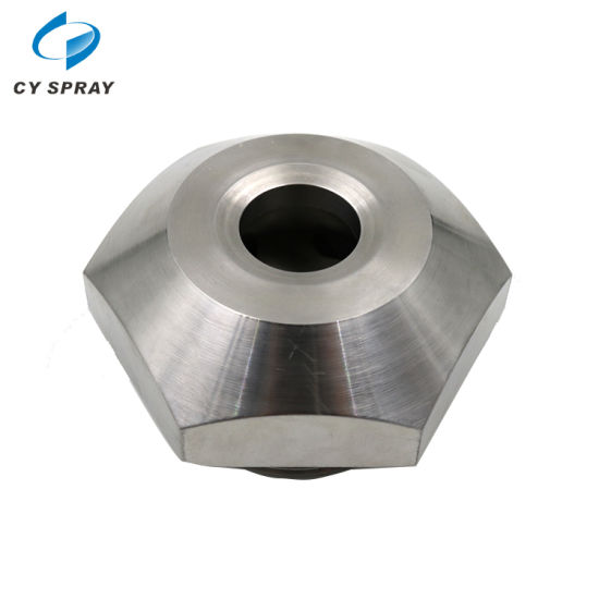 Industrial Ss Anti-Clogging Full Cone Spray Nozzle