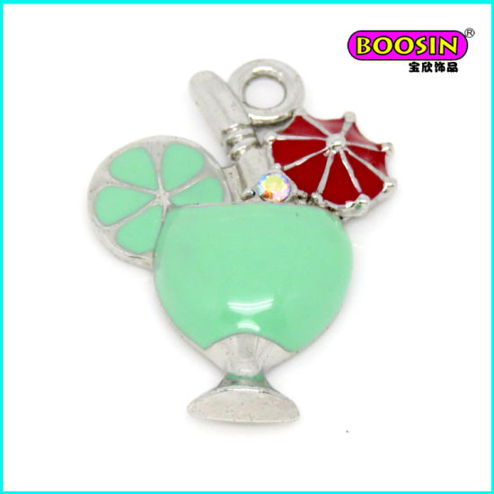 New Custom Hot Wholesale Sunflower Enamel Pendant From Guangzhou pictures & photos