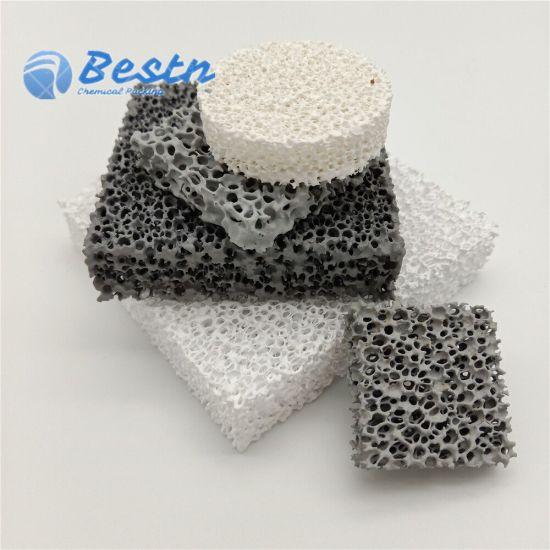 China Alumina, Silicon Carbide, Zirconia Ceramic Reticulated