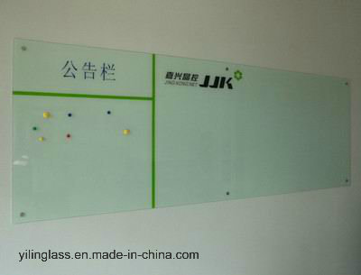 Acid Etched Tempered Writing Board Glass pictures & photos