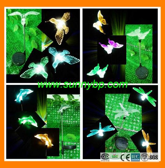 China Outdoor Christmas Solar Dragonfly Lighting China Led Xmas