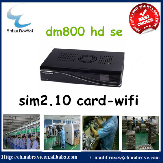 Dm 800HD Se Satellite Receiver with WiFi 2.1 /A8p Card pictures & photos