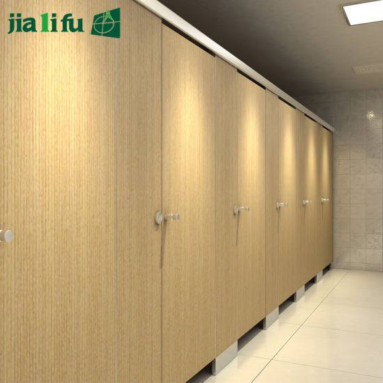 Jialifu Waterproof HPL Washroom Partition System pictures & photos