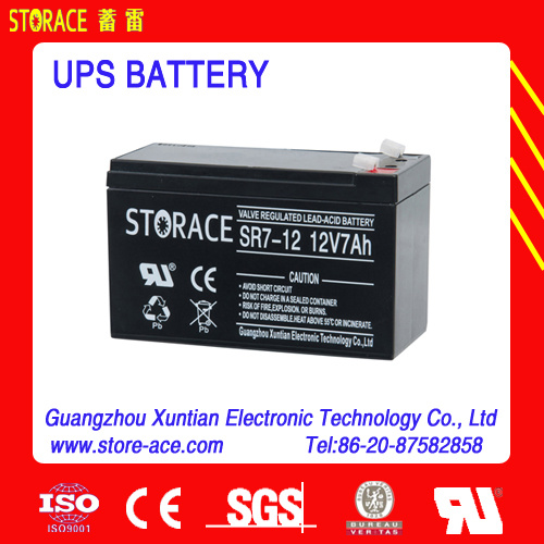 Dry Battery 12V for UPS, 12V 12ah Battery (6-dzm-12 battery) pictures & photos