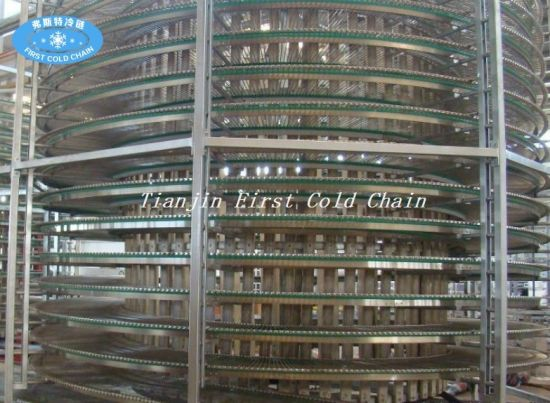 Spiral Transport Conveyor for Cooling pictures & photos