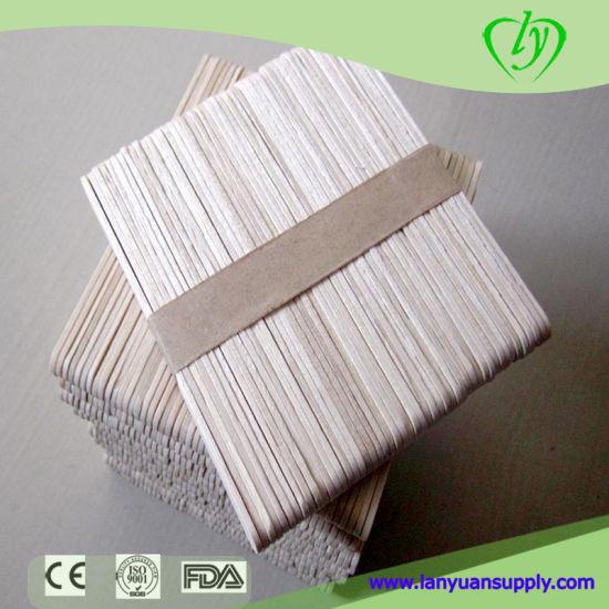 Birch Wood Disposible Ice Cream Sticks