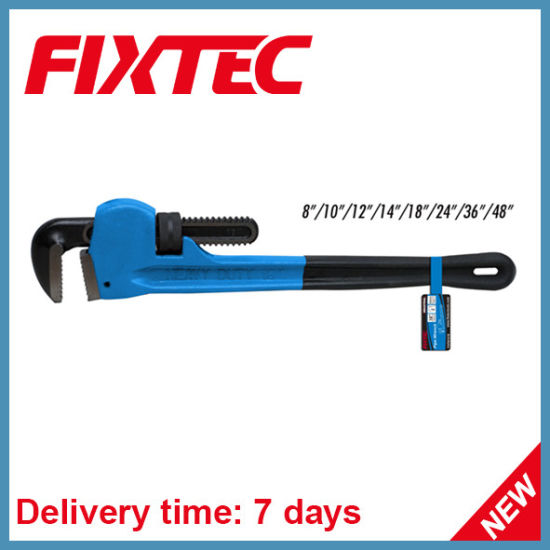 "Fixtec Professional Hand Tools 10"" Carbon Steel Pipe Wrench pictures & photos"