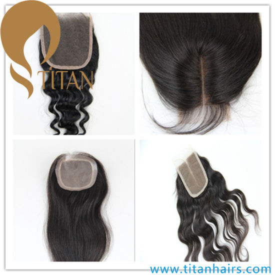 China Wholesale Cheap Human Hair Women′s Pieces Hair Closure - China ... e0d1a75ae