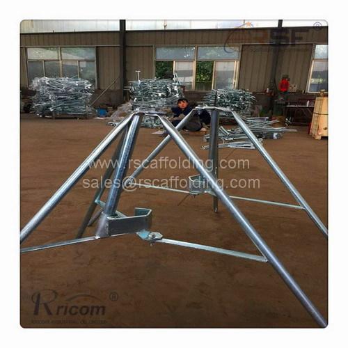 Steel Scaffold Shoring Prop Tripod/Formwork Tripod Steel Props Shoring Props/Shoring System-Prop Tripod with Folding Des