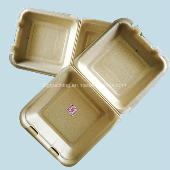 Environment Protecting Healthy Biodegradable Airline Food Packaging Container