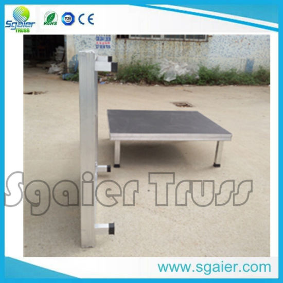 China Mobile Stage Equioment, Folding Stage for Easy Setup