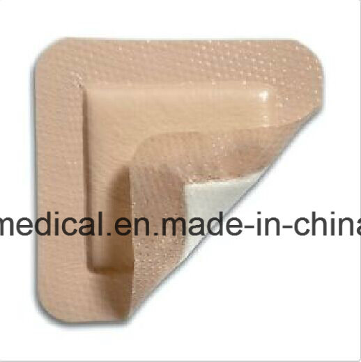 Ce FDA Approved Bedsore Dressing Border Foam Dressing with Silicone pictures & photos