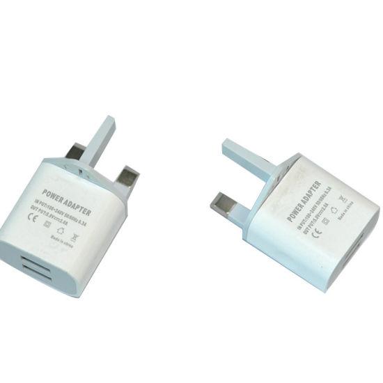 5V2a Dual USB Ports Portable Phone Charger UK