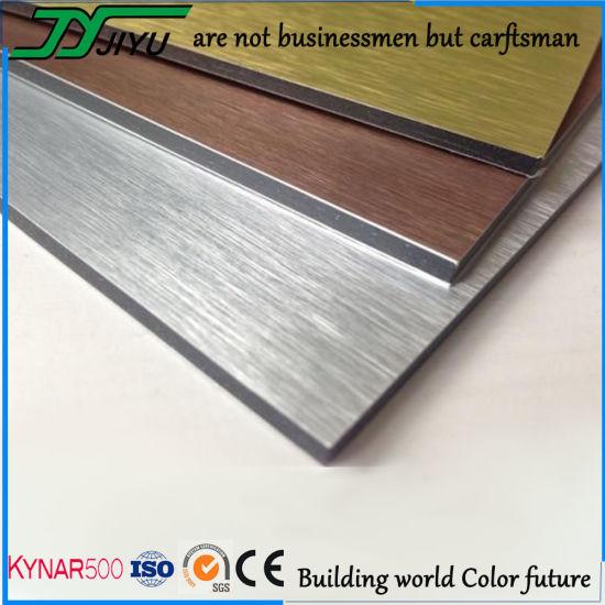 Unbreakable 4mm PVDF Decorative Aluminium Sheet