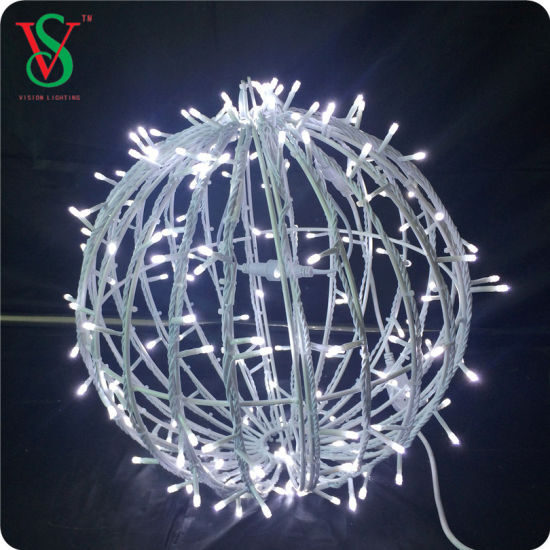 Colorful 3D Christmas Ball Tree Light pictures & photos
