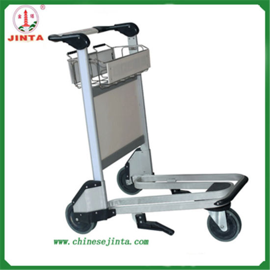 Aluminum Alloy Luggage Airport Trolley with Auto Brake (JT-SA02)