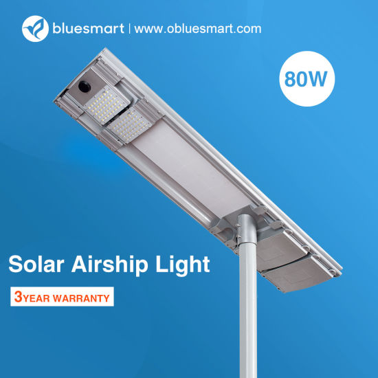 Solar Motion LED Outdoor Street Lamp with Waterproof IP65
