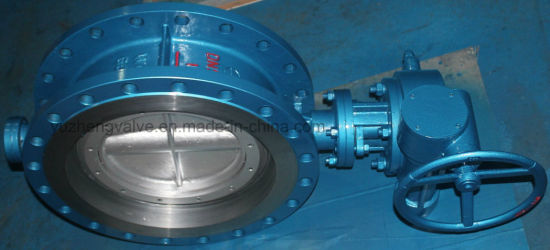 Ductile Iron Hard Sealed Butterfly Valve