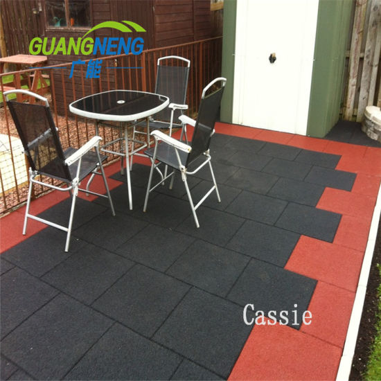 Wholesale Indoor Gym Recycle Rubber Tile/Gym Floor Mat