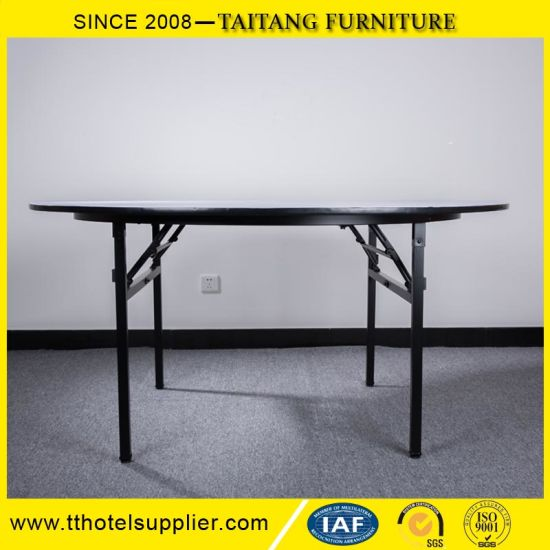 Banquet Folding Round Table for Hotel and Restaurant pictures & photos