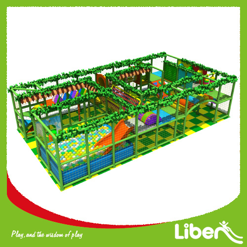 ASTM Approved Children Indoor Play Structure with 3D Installation Indtruction pictures & photos