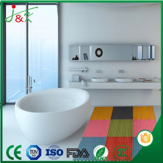 China Anti-Skid, Drainage-Holes, PVC Floor Mats for Kitchen, Wash ...
